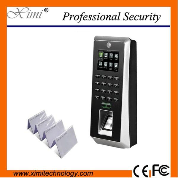 SilkID sensor 3000 fingerprint users F21 fingerprint + keyboard time attendance and access control system