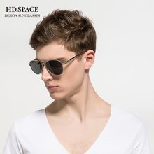 HD.space 2017 Classic Brand Sunglasses Men HD Polarized sun glasses Male Driving Pilot Eyewear Luxury UV400  men sunglasses