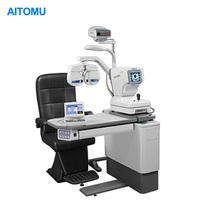 Optometry Eye Test Slit Lamp Auto Rerfactor Table Chair Unit