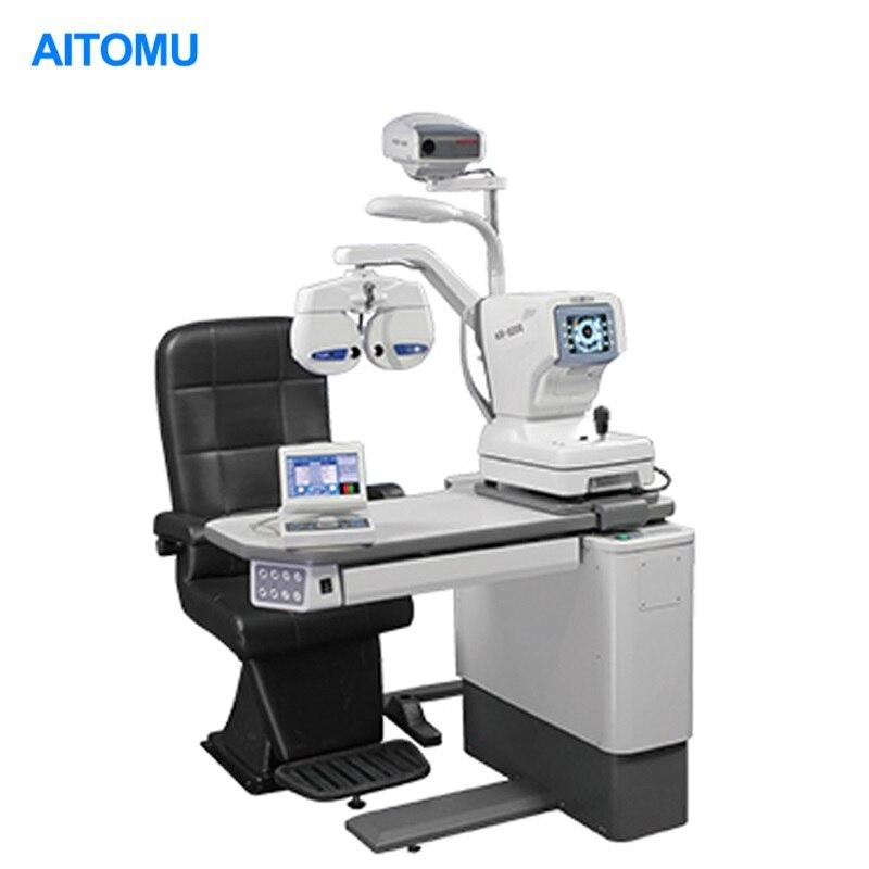 Unidad de silla de mesa de repuesto automático con lámpara de hendidura para Oftalmología ocular