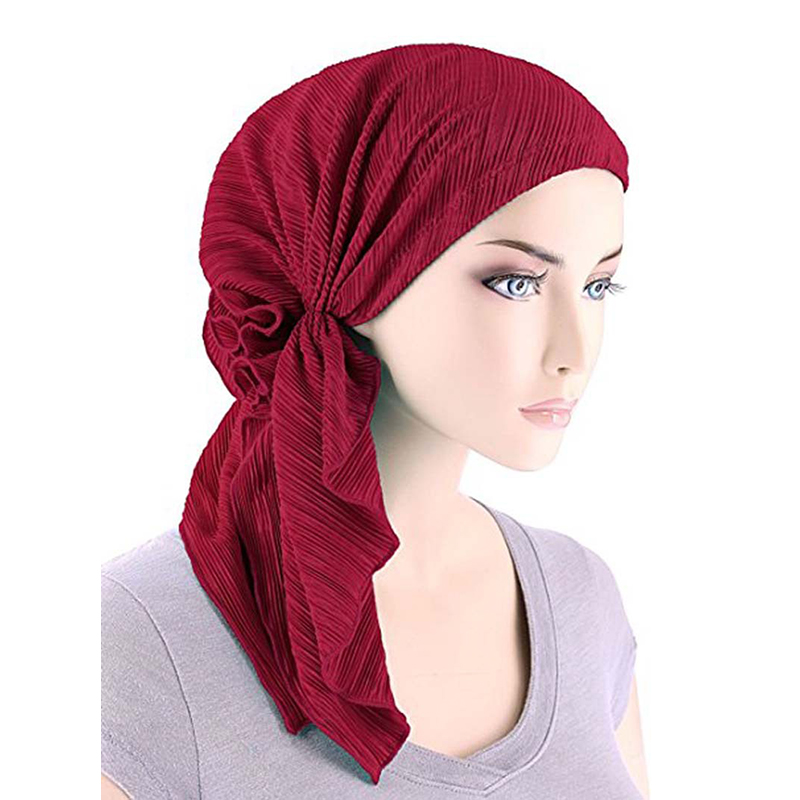 edecdea326170 Detalle Comentarios Preguntas sobre La MaxPa turbante de terciopelo gorra  India Hairnet musulmanes quimio tapa flor pliegue gorros quimioterapia pelo  ...