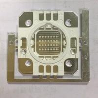 30W led ultraviolet integrated 365nm 375nm 380nm 385nm 395nm 400nm led bulb light flashlight dedicated 34*36mm bracket