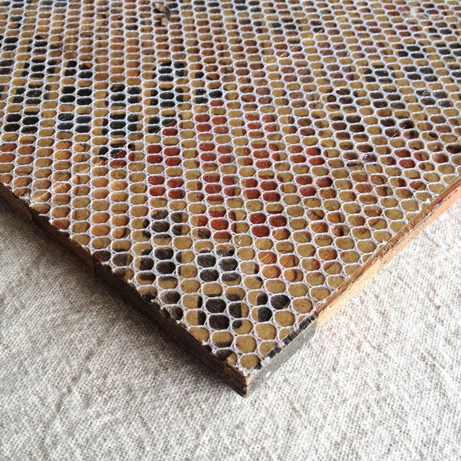 12 X 12 Malla Paredes De Casas De Madera Maciza Mosaicos 3d  ~ Mosaicos De Azulejos En Paredes