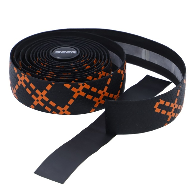 2PCS Seer Silicone Handlebar Tape Road Bicycle Wrap Shockproof Sweat Non-slip Belt Cycling Sports Accessories Parts 2019 New 2