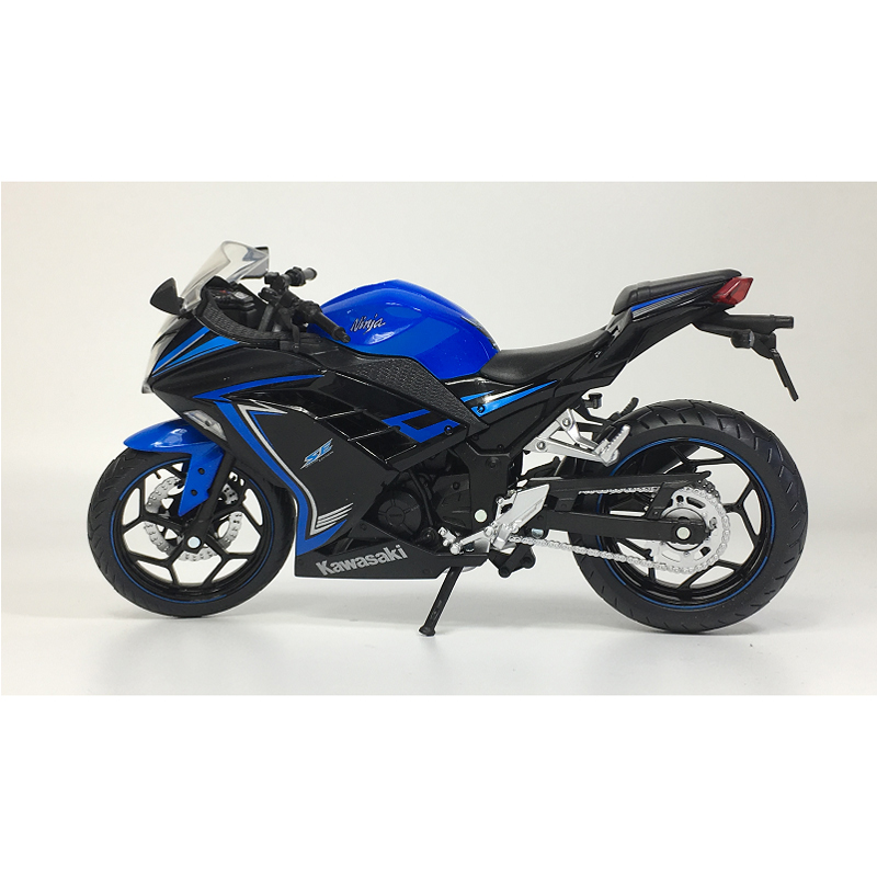 1:12 Kawasaki Ninja Motorcycle Model Static Display Motorcycle Toy Sport Bike Diecast Model & Vehicles Toys