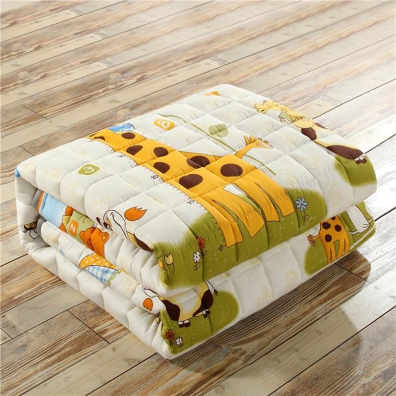 2.5cm quatre saisons épais bébé coton tapis d'escalade antidérapant bébé ramper tapis salon tapis de sol chambre tapis pour bébé cadeau - 2