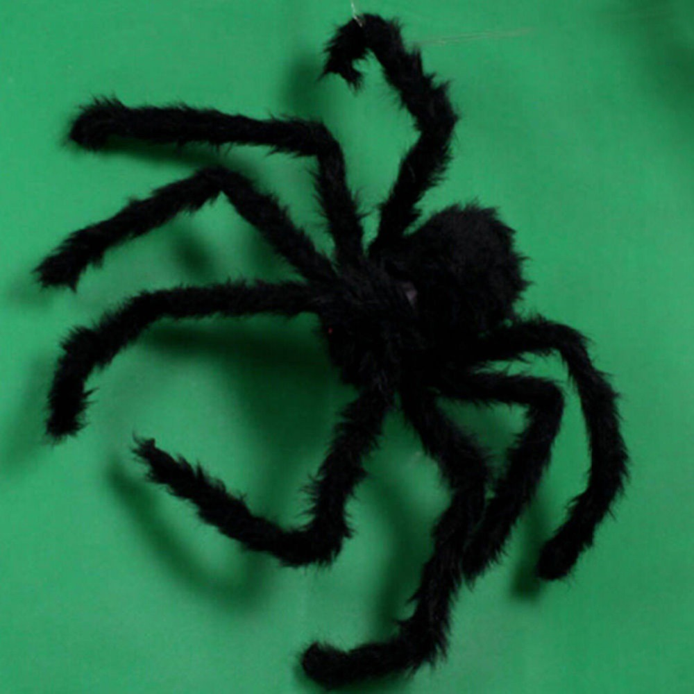 Super Big Plush Spider Halloween Prop 5