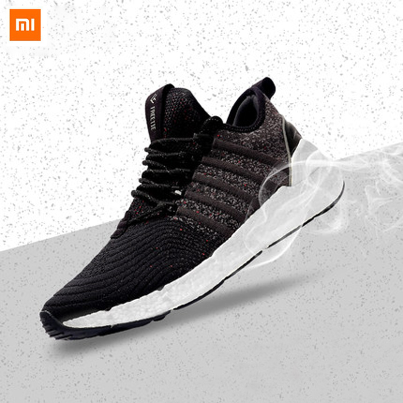 Xiaomi Ecological Chain Freetie Free tie Elastic Shock Absorbing Sports Sneaker Shoes ETPU Fishbone Locking Smart Outdoor