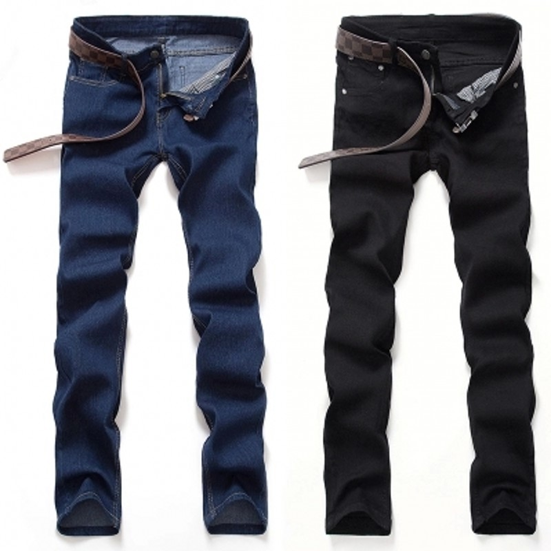 Hot Sale Autumn Fashion Slim Straight Jeans Men,Retail & Wholesale Leisure & Casual Denim Cotton Men Jeans,Free Shipping CHOLYL aliexpress 2016 summer new european and american youth popular hot sale men slim casual denim shorts cheap wholesale