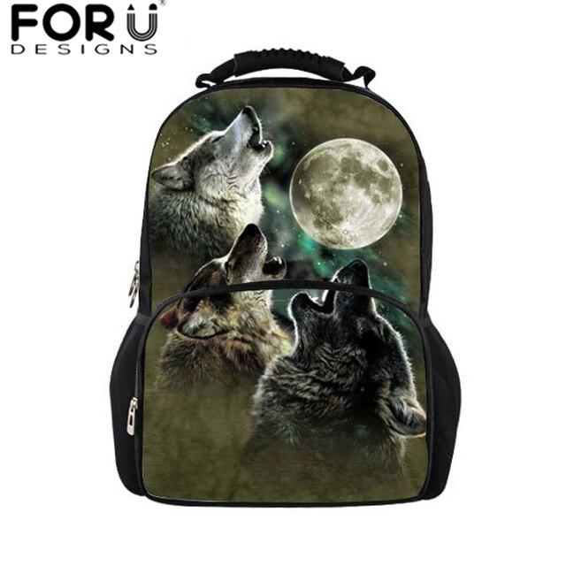 1f87d0156 Lobo Homens mochila masculino bolsa de viagem saco grande ombro sacos  bagpack, adulto adolescente meninos