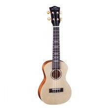 23-inch Small Wooden Guitar Musical Instruments Closed Knob Picea Asperata Ukulele Hawaii Classic 4 String UC-5C0