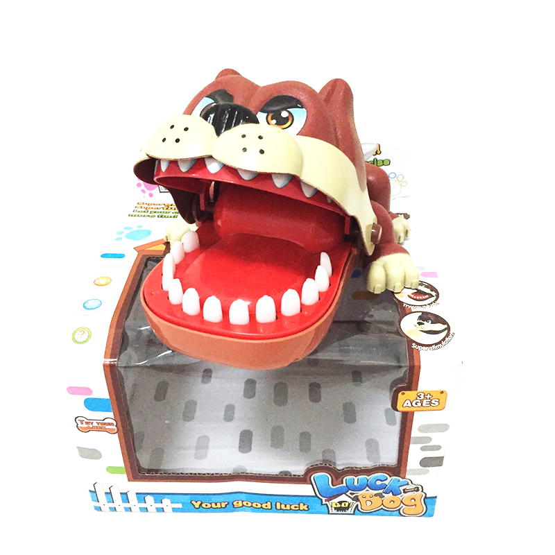 Permalink to 1pcs Large Bulldog Shark Mouth Dentist Bite Finger Game Funny Novelty Gag Toy for Kids Children Play Fun