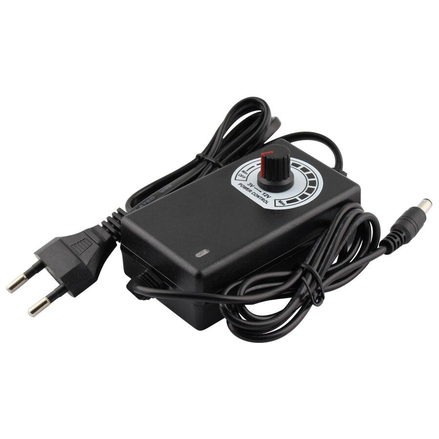 Power Supply Adjustable AC To DC 3V 9V 12V 24V 36V 1A 2A Power Supply Adapter Universal 3 9 12 24 36 V Volt 1A 2A Led Strip Lamp