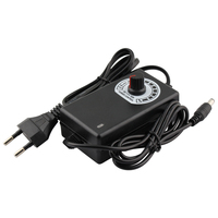 Регулируемый источник питания переменного тока в постоянный ток 3 в 9 в 12 В 24 в 36 В 1A 2A адаптер питания Универсальный 3 9 12 24 36 В вольт 1A 2A светод...