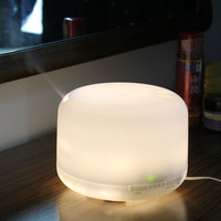 Sensky 500ml 9pcs LED Light 15 Color Change Dry Protect Ultrasonic Essential Oil Aroma Diffuser Air