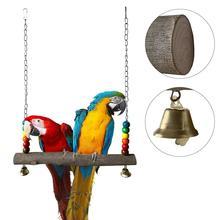 Жевательная игрушка для попугаев большие качели подвеска мост цепь качели для петуха курица птицы товары для домашних животных