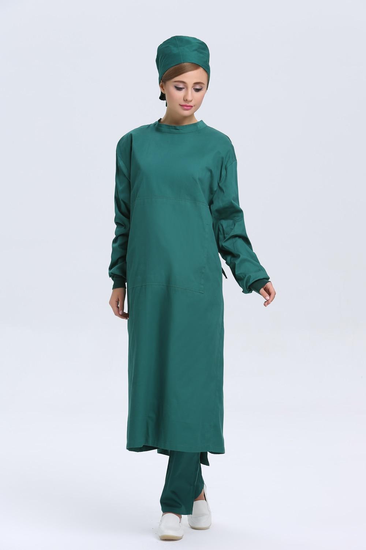 2015 OEM surgical gown cotton hospital uniform doctor nurse scrub ...