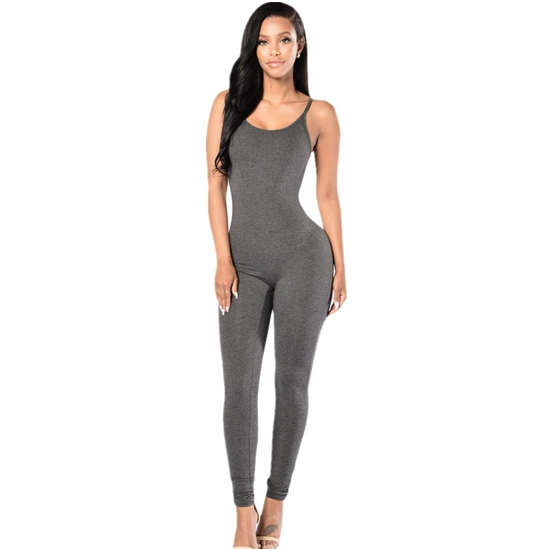 Gray-Spaghetti-Straps-Simple-Stretch-Jumpsuit-LC64106-11