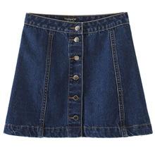 9c657d256 Compra miniskirt jeans y disfruta del envío gratuito en AliExpress.com