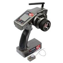 RadioLink RC6GS 2.4G 6CH émetteur + R7FG, récepteur gyroscopique intérieur RX pour voiture de course Rc, télécommande pour bateau RC, Distance de 400m