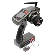 RadioLink transmisor de 6 canales RC6GS 2,4G, giroscopio interno RX para coche de carreras a Control remoto, para barco a Control remoto, distancia de 400m