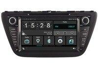 Автомобильный Gps Dvd стерео Player Радио для Suzuki S Крест 2014 2015 навигации Телефон Зеркало Ссылка HD мультимедийный Системы 3g WI FI DVR SWC