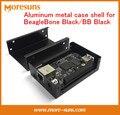 Rápido Envío Gratis 90mm * 64mm * 26mm caja De metal de Aluminio shell para BeagleBone Negro BB negro aleación de aluminio de vivienda
