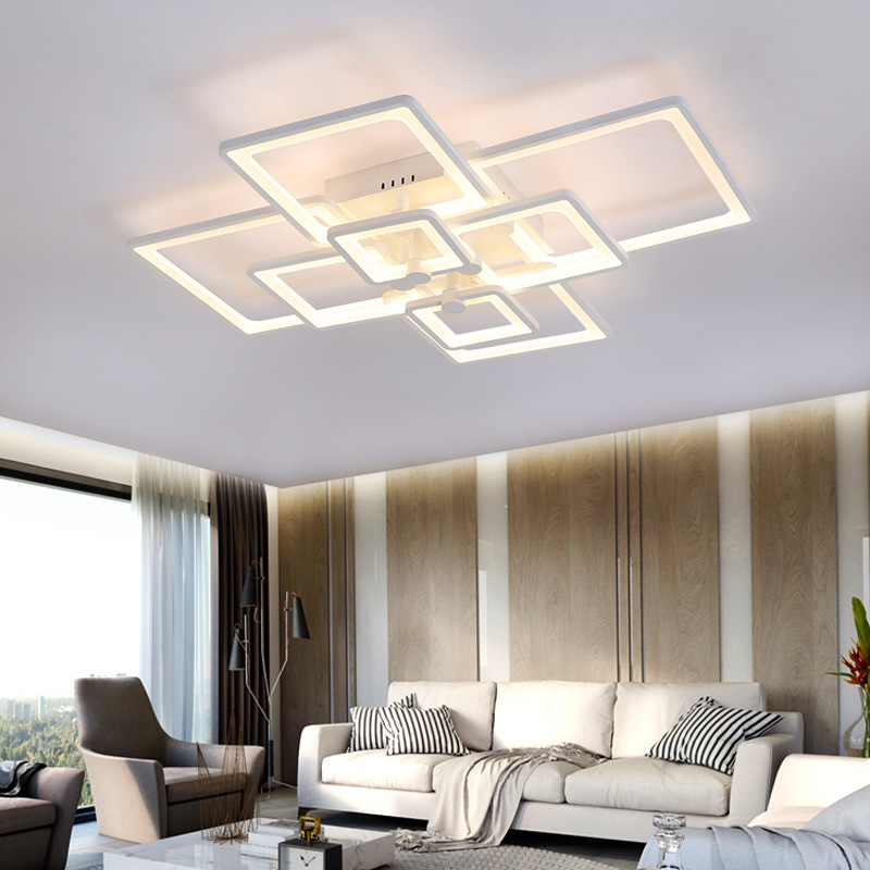 Eusolis 110 220v Ceiling Lights Plafonnier Led Moderne Flush Mount Light  Decoration Living Room Lighting Luminaria Luster Luz 44