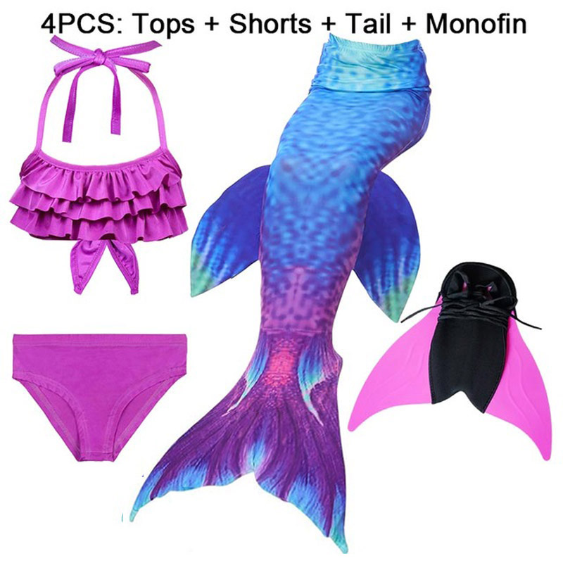 14-Colors-Girls-Swimming-Mermaid-Tail-with-Monofin-Bathing-Suit-Children-Ariel-the-Little-Mermaid-Tail.jpg_640x640 (11)