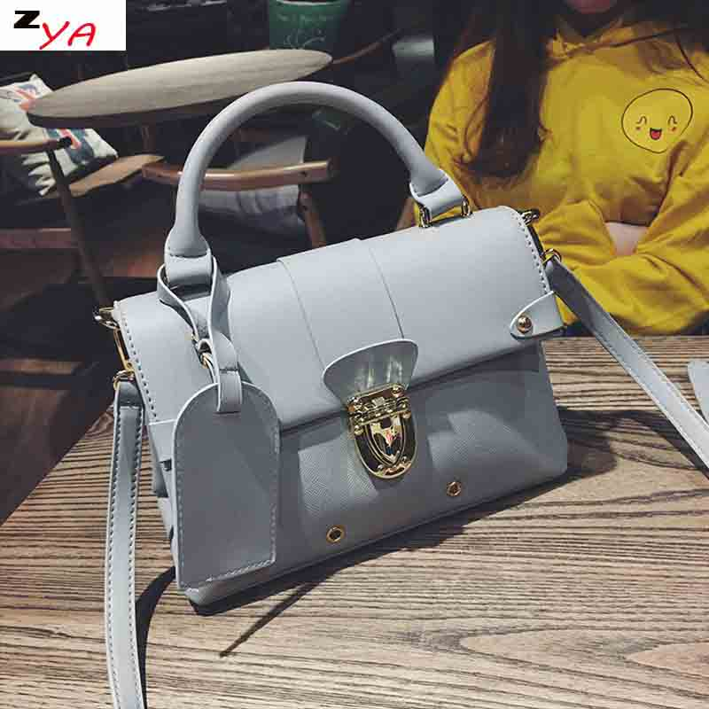 Famous Brand Designer Women's Handbag High Quality Korean Style PU Leather Female Shoulder Bags bolsa feminina sac a main brand high quality women sheepskin handbag famous designer messager crossbody bag female sac big bags casual tote bolsa feminina