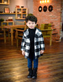 Coat For Boys Toddler Boys Wool Autumn Winter Fashion Woolen Coat Girls Wool Winter Coats Girls Clothing