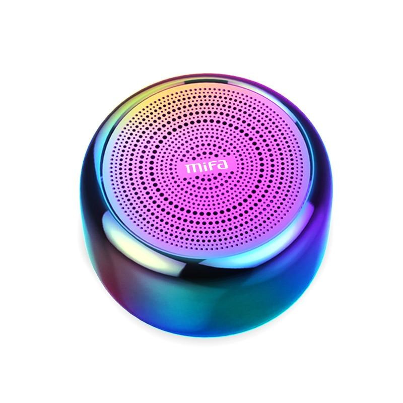 Mifa i8 Portable Bluetooth Speaker Built-inMicrophone Aluminium Alloy Body Mini Speaker Wireless Bluetooth 4.2 Mp3 Music Player y5 goral