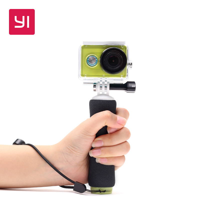 YI Floating Grip Stick Black For YI Action Camera For UnderWater Adventure Sports Swimming Diving Snorkeling