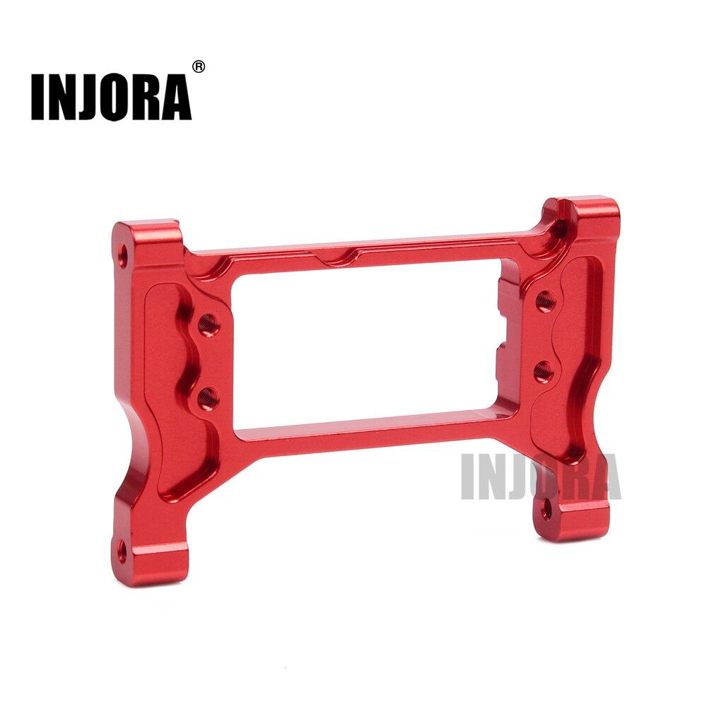 INJORA TRX4 Metal Aluminum Front Servo Mount for TRAXXAS TRX-4 8239 Upgrade Parts metal front servo stand low center of