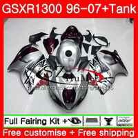 Fairings For SUZUKI Hayabusa GSXR1300 96 07 GSXR 1300 02 03 04 05 06 07 Dark red new 42SH24 GSX R1300 2002 2003 2004 2005 2007