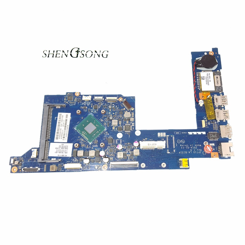 Free Shipping ZPT10 LA-B151P for HP 11-N 11T-N X360 motherboard 789088-501 789088-001 laptop motherboard SR1YW N2840 100% test free shipping 786899 501 u88m dau88mmb6a0 motherboard for hp 15 f series n2840 all functions 100