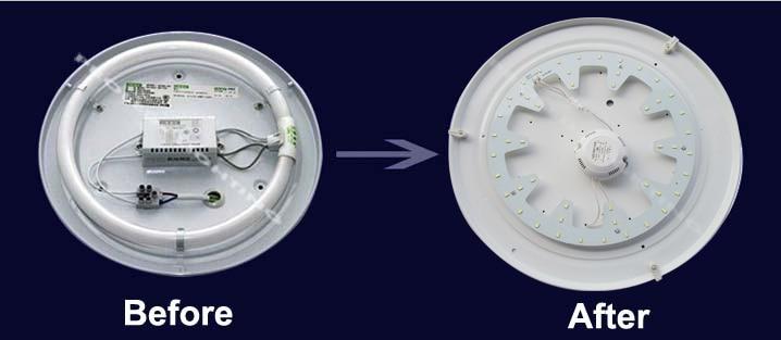 El fabricante redondea 24W LED placa pcbs placa led DUAL COLOR blanco - Iluminación LED - foto 6