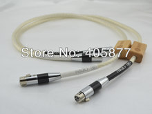 Hi-End Odin XLR Interconnect cable 1M with carbon fiber XLR plug cable(China)