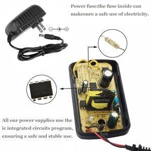 Image 3 - DC 12 v 3 v 6 v 19 v 20 v 1A 200mA 300mA 500mA 600mA UNS EU Plug Power versorgung Adapter Transformator Für LED Streifen licht Eingang 100 240 v