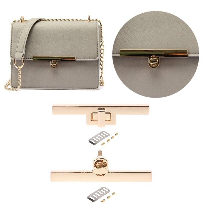 THINKTHENDO New Metal Clasp Turn Locks Twist Lock for DIY Handbag Craft Bag Purse Hardware сетка для пиццы metal craft al i d 16