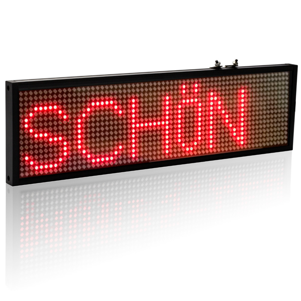 electronic sign message board led car sign board 12v programmable