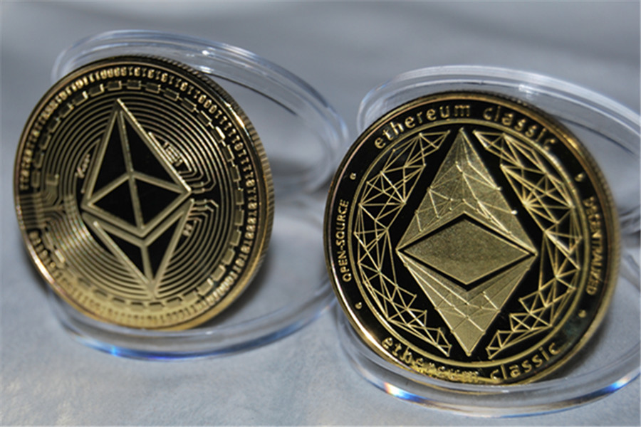 Patterned Ether Bitcoin Embossed Stereo Bitcoin Digital Un currency Collection Coin And Decoration Coin free shipping in Non currency Coins from Home Garden