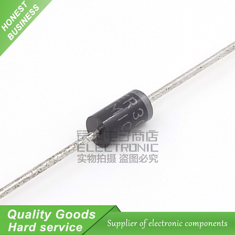 10PCS BY255 Rectifier Diode 3A 3000mA 1300V DO-201 New Original Free Shipping