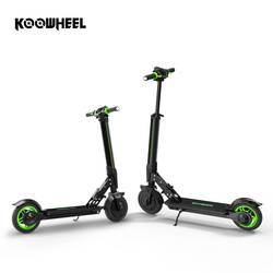 Koowheel E1 Electric Scooter Foldable Stepper e-Scooter Mini Skateboard Kick Scooter Longboard for Kids Adults with APP