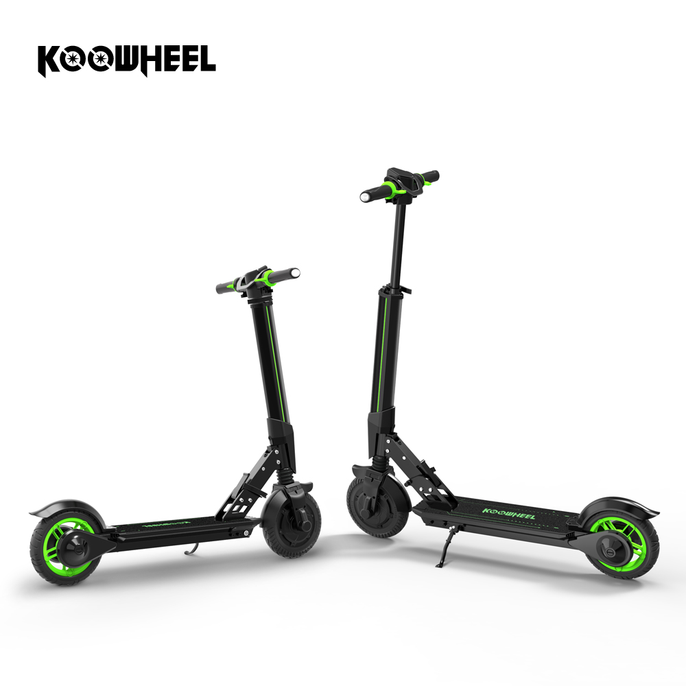 Koowheel New Electric Scooter Mise À Niveau Pliable Stepper Scooter Mini Électrique Planche À Roulettes Kick Scooter Longboard pour Enfants Adultes