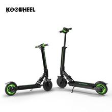 Koowheel Новый электрический скутер обновление складной шаговый скутер мини электрический скейтборд самокат Longboard для детей взрослых