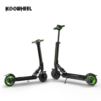 Koowheel New Electric Scooter Upgrade Foldable Stepper Scooter Mini Electric Skateboard Kick Scooter Longboard for Kids Adults