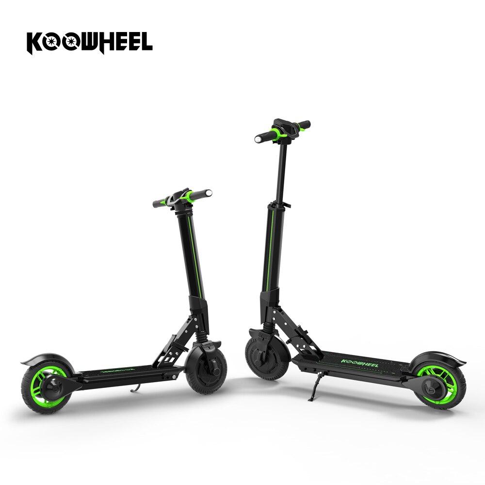 Koowheel Nuovo Scooter Elettrico Aggiornamento Pieghevole Stepper Mini Scooter Elettrico di Skateboard Scooter calcio Longboard per I Bambini Adulti