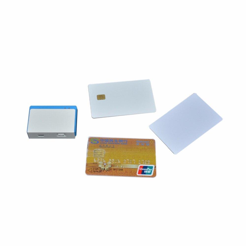 Lecteur de carte Mobile Bluetooth trois-en-un avec Contact/carte à puce sans Contact MPR110 - 4