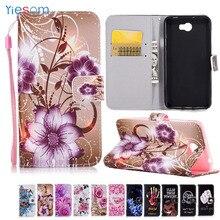 YIESOM For Honor 5A LYO-L21 Cases Luxury Wallet Leather Flip